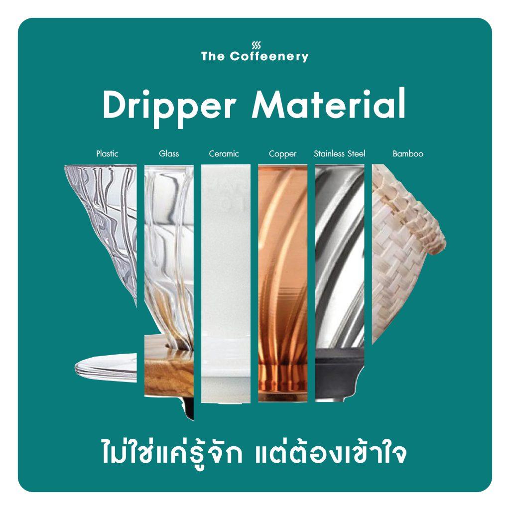 Dripper material
